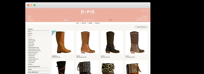 Venta Zapatos Online | Crear Tienda Online de Zapatos